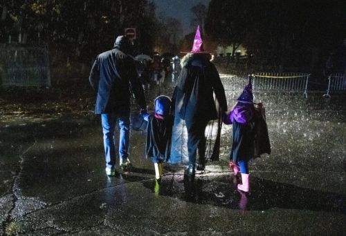 Heavy rain could ruin trick or treating plans in Halloween weekend washout