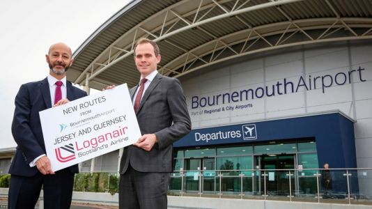 Loganair to launch flights from Bournemouth to Jersey and Guernsey