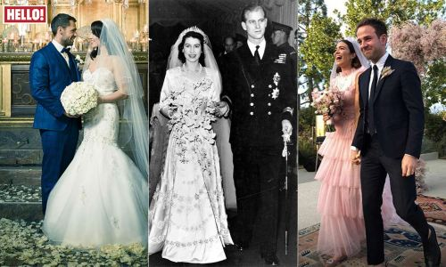 10 celebrities who married in November - from the Queen to Serena Williams