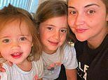 Jacqueline Jossa shares a sweet snap with her daughters following reports of marital woes'