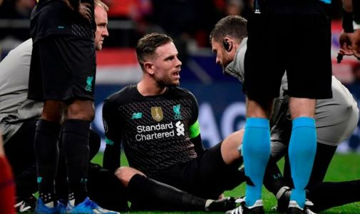Jordan Henderson set for three weeks out with hamstring injury, says Jurgen Klopp