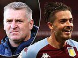 Aston Villa star man Grealish spends hours in the gym with former youth team pal, reveals Dean Smith