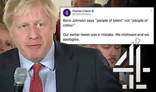 Channel 4 News bias: Outrage as broadcaster apologises for major Boris Johnson blunder