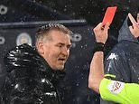Aston Villa's Dean Smith charged with 'abusive language' towards a referee in Man City loss
