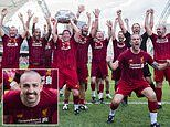 Jose Enrique marks recovery from cancer with victory as Liverpool Legends beat Borussia Dortmund