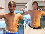 Love Island's Jack Fincham shows off his impressive one week weight loss