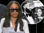 Lauren London remembers slain beau Nipsey Hussle with smiley snap. after delivering eulogy