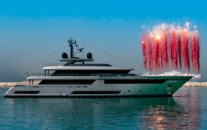 Biggest Riva yacht to date splashes down in Ancona