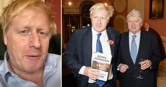 Boris Johnson's dad calls Radio 4 to say his son 'almost took one for the team'