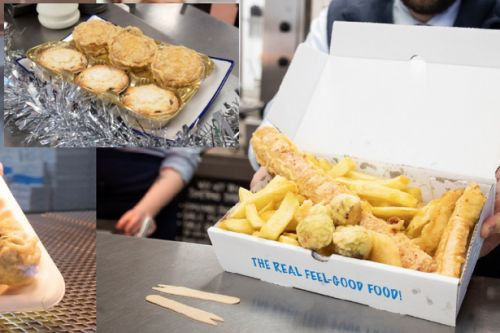 Scots chippy offering punters deep-fried Christmas dinner and it's as crazy as it sounds