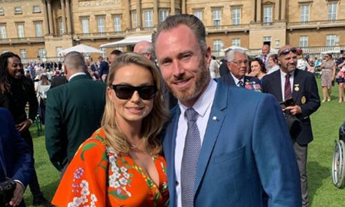 James Jordan reveals why he was disappointed by Buckingham Palace visit