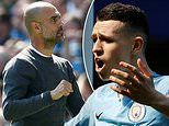Pep Guardiola hails 'incredibly talented' Phil Foden after Tottenham win