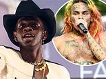 Lil Nas X claims Tekashi 6ix9ine slid into his DMs. which Trollz rapper staunchly denies