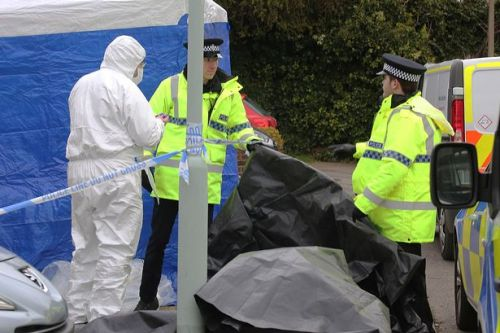 Police 'not looking for further suspects' after parents and daughter die in fire