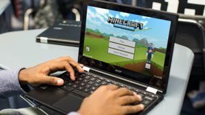 Microsoft Launches Minecraft: Education Edition for Chromebooks
