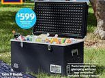 Aldi's ultimate 65L portable fridge freezer is perfect for your camping adventures