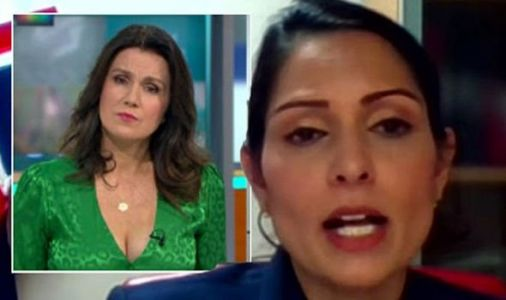 'I'm not getting muddled' Priti Patel shuts down Susanna Reid in furious GMB lockdown row