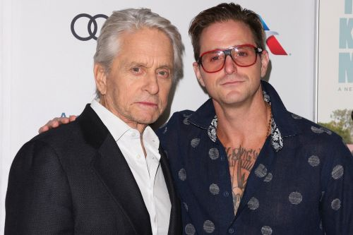 Michael Douglas' son Cameron claims actor made him hand out joints to guests at celebrity parties in tell-all book