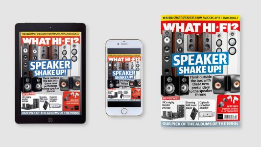 New April issue of What Hi-Fi? out now: the ultimate £1K speaker showdown!