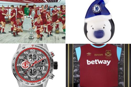 Premier League football clubs cashing in on Christmas with expensive fan merch