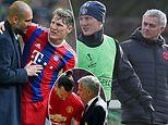 Schweinsteiger claims Jose Mourinho exiled him at Man United because he 'played under Pep Guardiola'