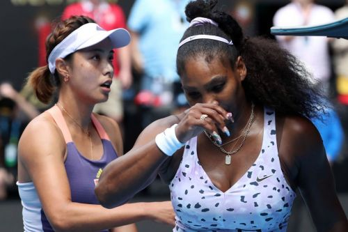 Serena Williams 'wants to punch the wall' after shock Australian Open exit