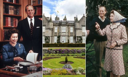 The Queen's private holiday home is full of Prince Philip memories - photos