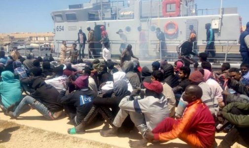 Hundreds of migrants saved after rubber boats get into trouble in Mediterranean