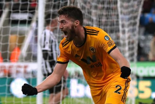 Newcastle 1 Wolves 2: Matt Doherty gets dramatic late winner for Nuno's side against 10-man Toon after DeAndre Yedlin sent off