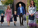 Kate Middleton attended three hour long workshop at Prince George and Princess Charlotte's school