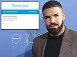 Drake donates $100,000 to a national bailout fund for protestors following the death of George Floyd
