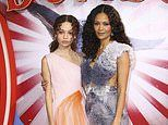 Thandie Newton proudly supports her daughter Nico at star-studded Dumbo premiere