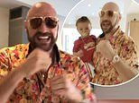 Tyson Fury uses the n-word while singing Notorious B.I.G with his five children