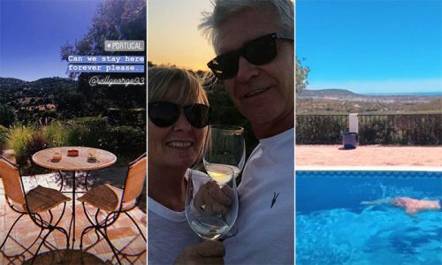Inside Phillip Schofield's stunning holiday home in Portugal