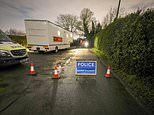 Man, 19, is arrested after police find body in leafy Cheshire suburb