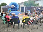 Residents throw a street party to celebrate 'nightmare neighbour' finally being evicted