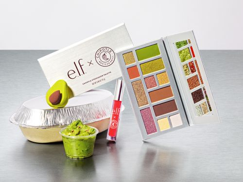 Chipotle is launching a limited edition makeup line with a burrito-inspired eye shadow palette - here's what it looks like