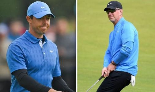 Rory McIlroy horror Open first round outdone by David Duval who finishes 19 over