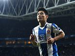 Watford offered Espanyol's Wu Lei who has been dubbed the 'Chinese Maradona' as Wolves cool interest
