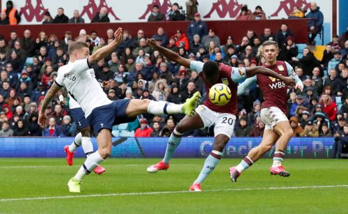 Aston Villa 2 Tottenham 3: Son scores stoppage time winner to close gap on Chelsea after Alderweireld own goal