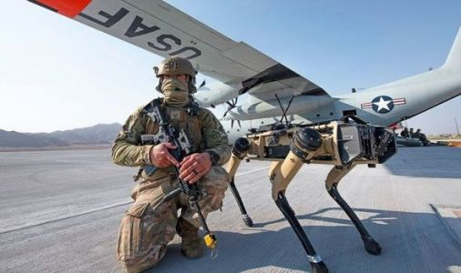 US Air Force: 'Unstoppable' Army trials AI robot dogs to defend bases - 'Next-gen warfare'