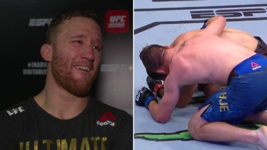 Justin Gaethje reveals what he told Khabib Nurmagomedov while he was crying on the floor after UFC 254 clash