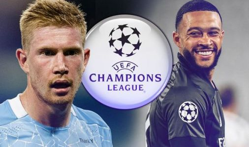 Man City vs Lyon LIVE: Confirmed team news and score updates from Champions League clash