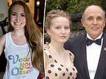 'Threesomes make me a better person': Giuliani's bisexual daughter reveals she revels in group sex