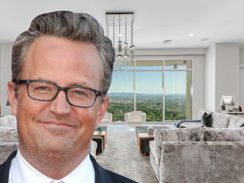 Matthew Perry's Los Angeles penthouse is on the market for $35 million - here's a look inside