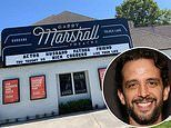Garry Marshall Theatre in Los Angeles pays tribute to late Broadway star Nick Cordero on its marquee
