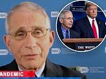 Dr. Fauci says the White House Coronavirus Task Force is only meeting once a week