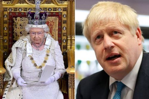 Boris Johnson makes Queen speak at pointless state opening - costing 220k of tax money