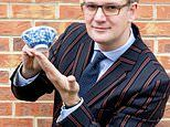 Six-inch cereal bowl spotted in a box of auction house bric-a-brac worth £30,000
