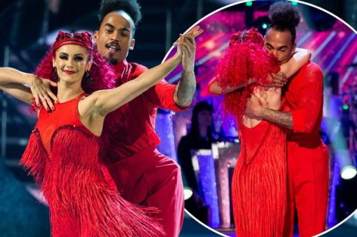 Strictly's Dev Griffin 'absolutely gutted' as pro Dianne cries after bombshell exit